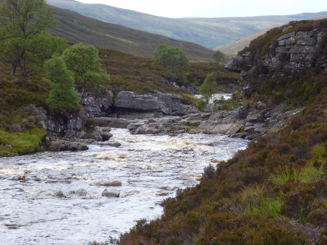 Gorge on River Feshie
