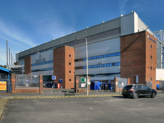 Ewood Park, Blackburn End Stand
