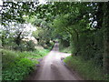 TM0835 : Looking up the hill at Cutlers Lane by Roger Jones