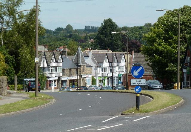 A621 Baslow Road, Totley