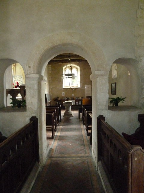 Inside St Mary, Ashley (xi)