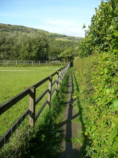 Hebden Royd Footpath 47 at Great Stubb, Mytholmroyd