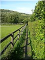 SE0026 : Hebden Royd Footpath 47 at Great Stubb, Mytholmroyd  by Humphrey Bolton