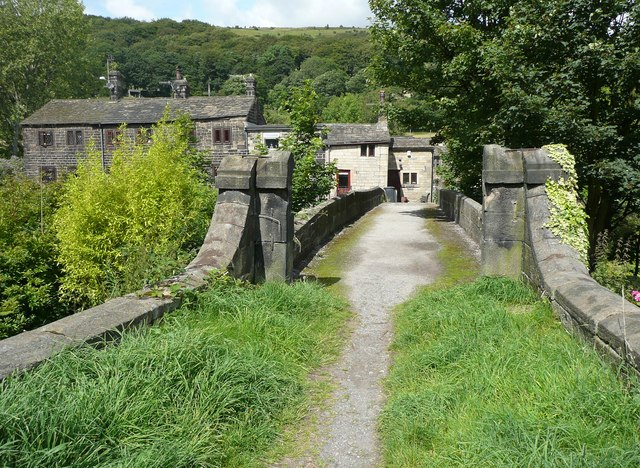 Hawks Clough Bridge, Mytholmroyd