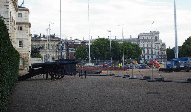 Horseguards Parade, Whitehall