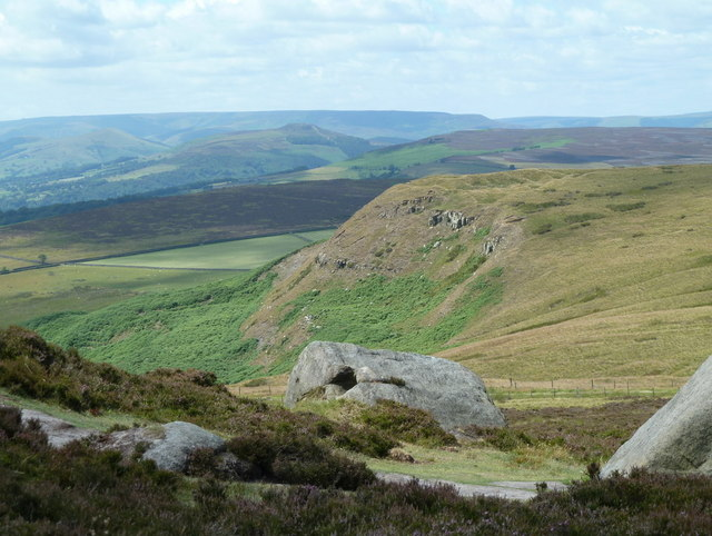 Callow Bank from Higger Tor