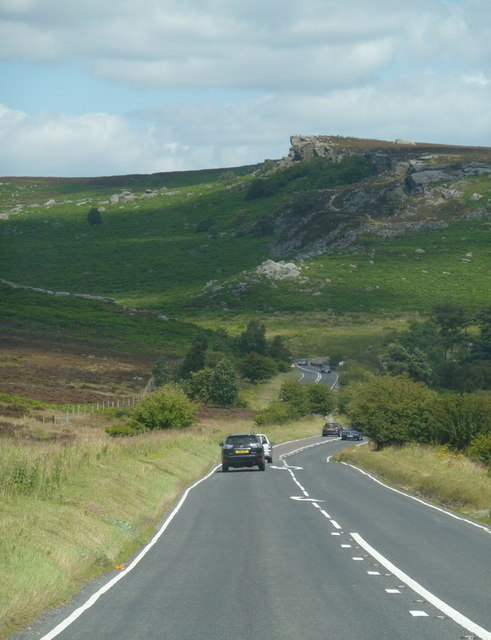 A6187 towards Burbage Bridge