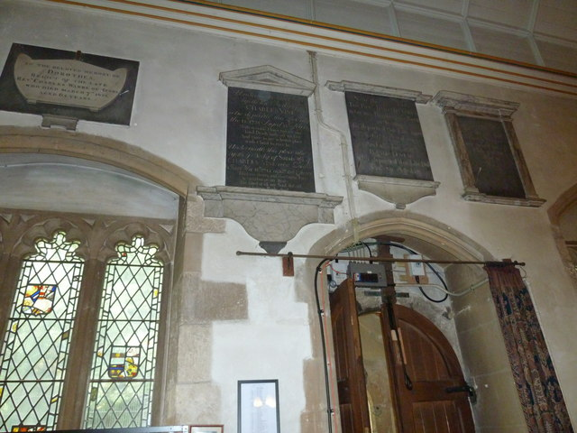 St Nicolas Church, North Stoneham: north wall