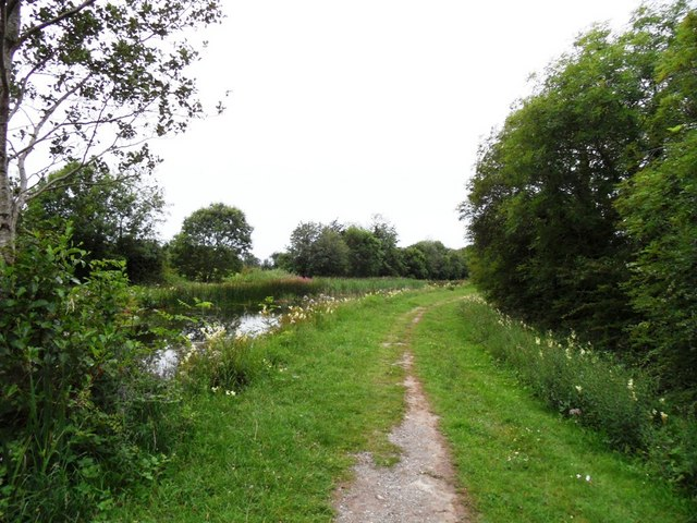 Grand Canal in Rathmore near Edenderry, Co. Offaly