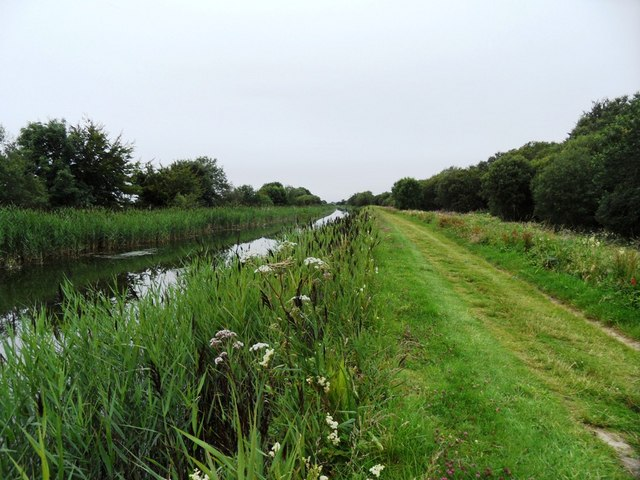 Grand Canal in Rogerstown, Co. Offaly