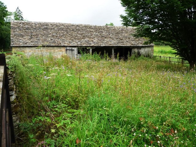 Flower-filled yard at Coulsty Barn