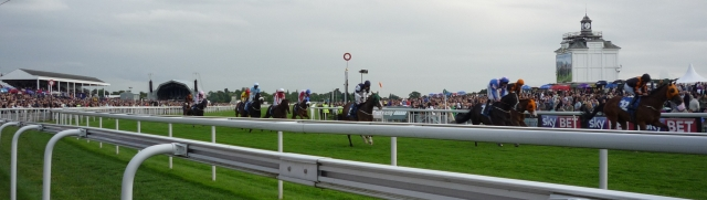 Passing the winning post