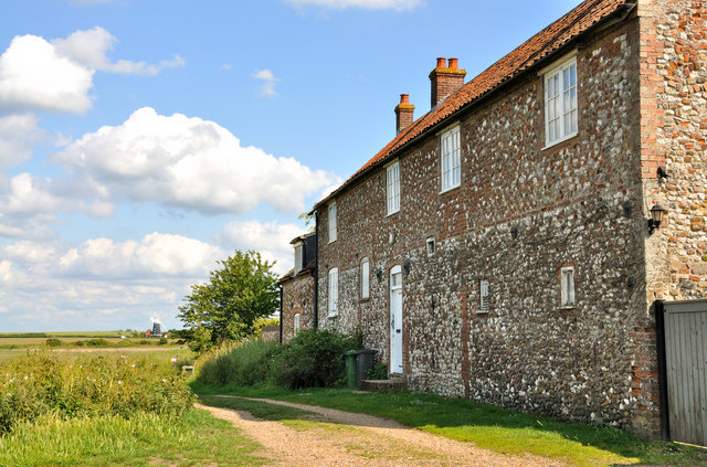 Farm House at Burnham Norton