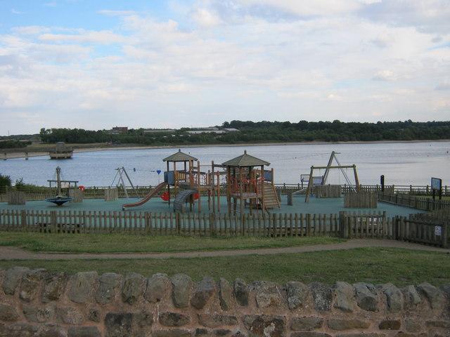Play Area At Staunton Harold Reservoir Peter Robinson