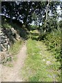 SE0026 : Hebden Royd Footpath 19 at Broad Bottom, Mytholmroyd by Humphrey Bolton