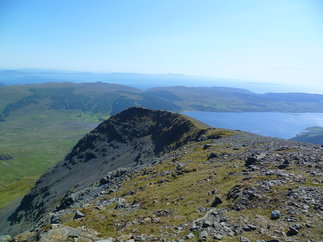 South ridge of Ben More