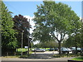 TQ4765 : Goddington Park Car park by David Anstiss