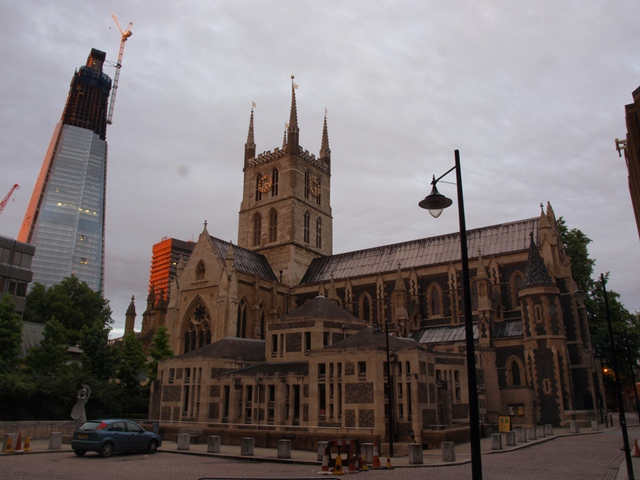 Southwark Cathedral from the North West