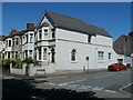 ST2987 : Risca Road house on the corner of Penllyn Avenue, Newport by John Grayson