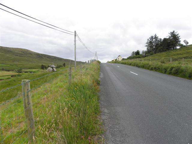 Road at Stranakirk