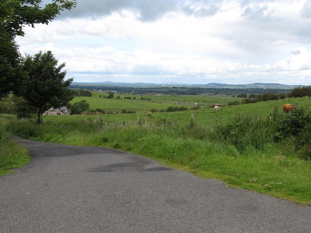 Farmland north of the Corstown Road