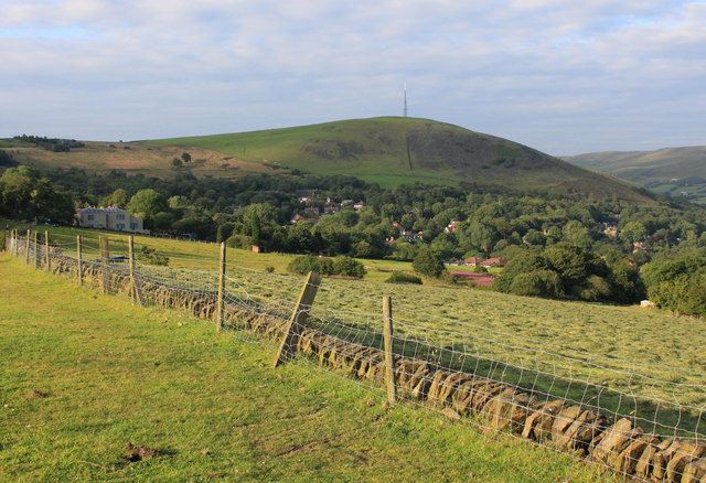 Wharmton Hill from the Oldham Way, Grasscroft.