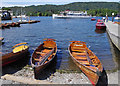 SD4096 : Boats at Bowness by Ian Taylor