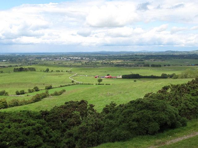 Farmland north of Carnbane East