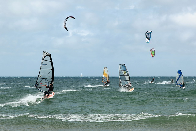 Watersports on Poole Bay