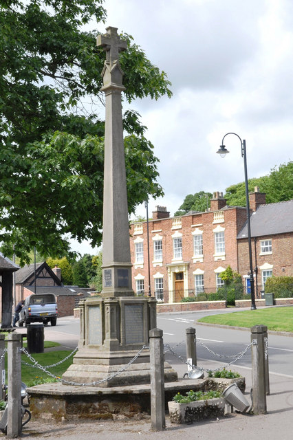 War Memorial - Abbots Bromley