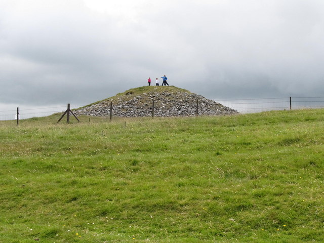 Neolithic Tomb on Slieve Na Calliagh