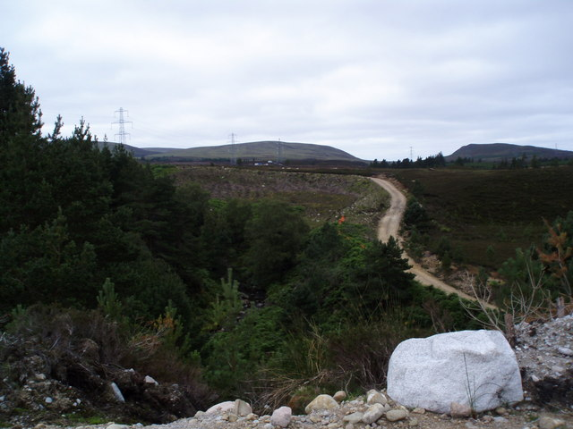 Path rising from Allt Dearg Gorge