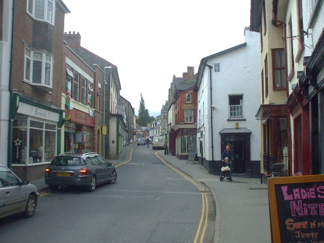 High Street, Builth Wells