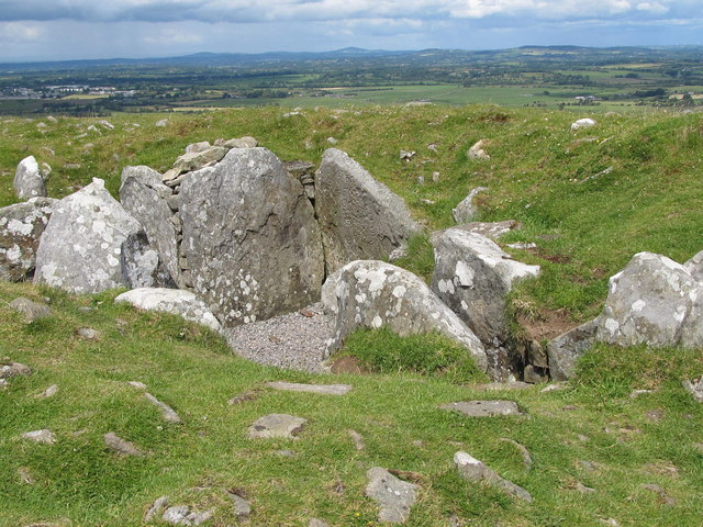 A satellite tomb at Carnbane East