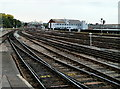 ST5972 : A view east from Bristol Temple Meads railway station by Jaggery