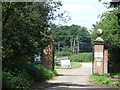 TQ4199 : Gateway at Woodredon Farm, Epping Forest by Malc McDonald