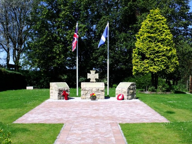 Slamannan, Victoria Cross Memorial [2]