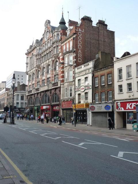 J & J Goddard & Co, Tottenham Court Road
