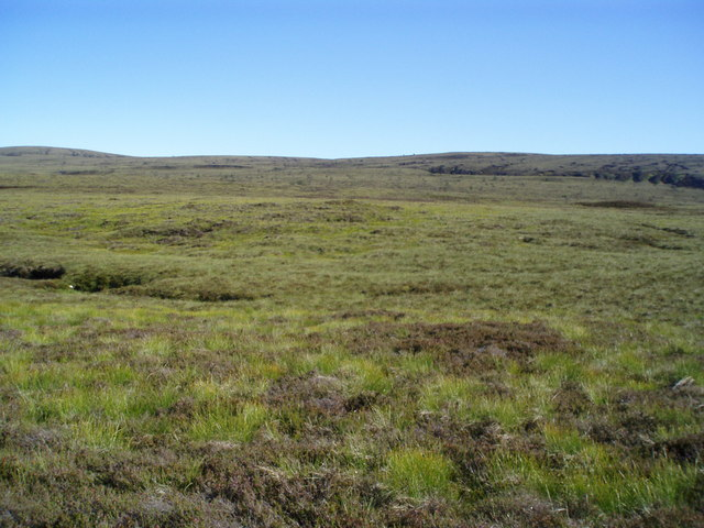 Moorland by Allt an Iomaill