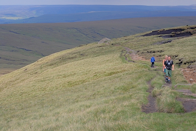 Pennine Way Approaching Ashop Head