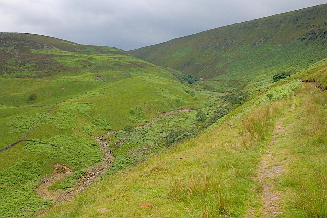 Looking up Torside Clough