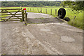 SD9460 : Cattle grid on road to Way Gill farm by Tom Richardson