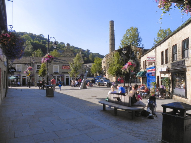St George's Square, Hebden Bridge