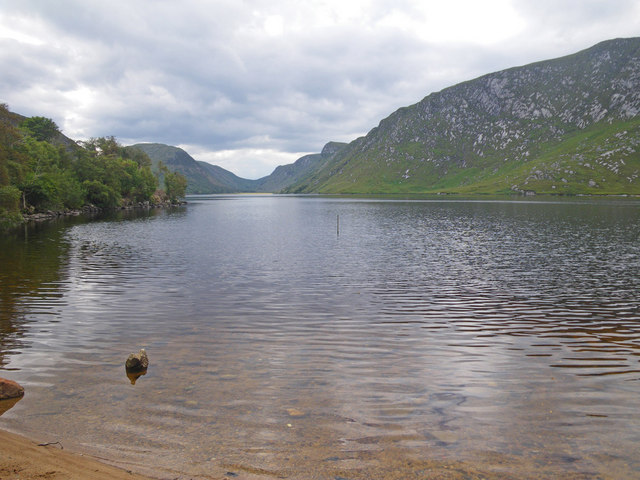 Lough Beagh from near the boat dock