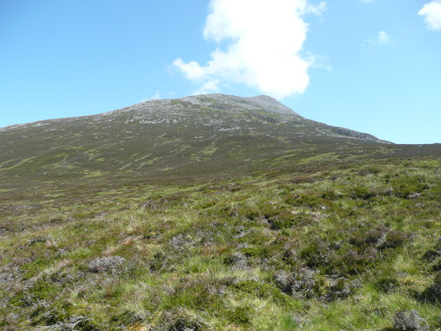 Heather slopes west of Schiehallion