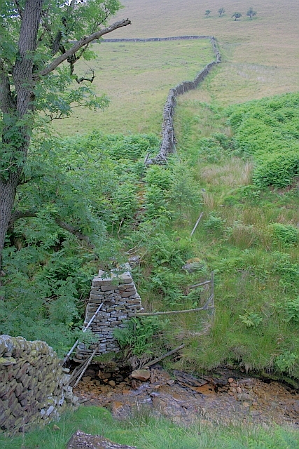 Wall Crossing Crowden Brook