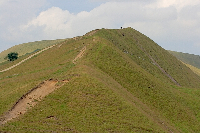 Start of the Rushup Edge Ridge