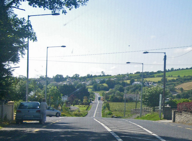 Northern outskirts of Lifford along the N14