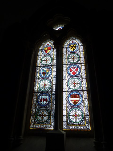 Saint Mary, Calbourne: stained glass windows (1)