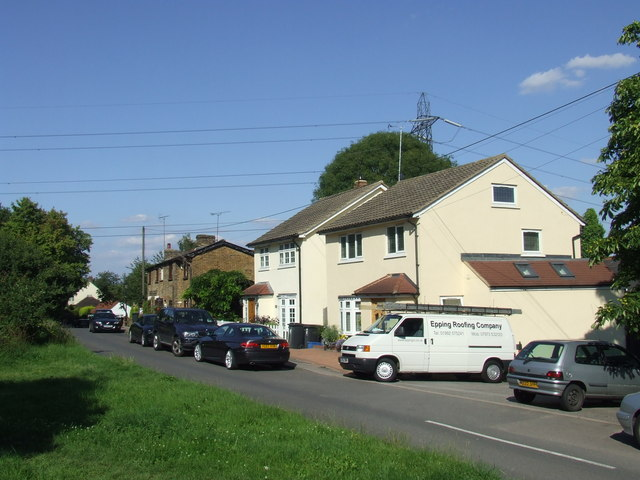 Houses at Bell Common near Epping